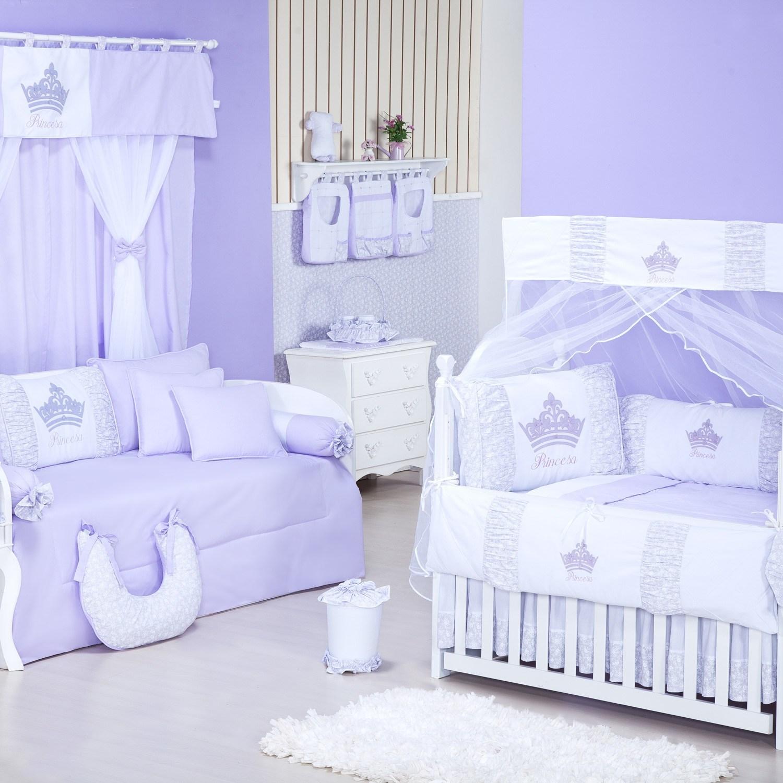 Quarto para Bebê Princesinha Lilás